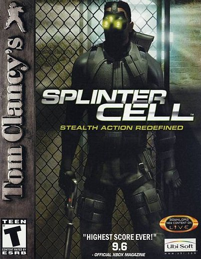 Tom Clancy's Splinter Cell (PlayStation 2, PS2)