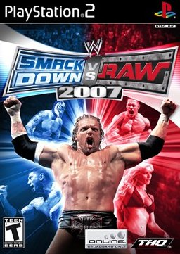 WWE SmackDown vs. RAW 2007 (PlayStation 2, PS2) (Never Played) (Rare Original First Edition)
