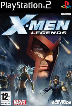 X-Men Legends (PlayStation 2, PS2) (Never Played)