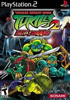 Teenage Mutant Ninja Turtles 2: Battle Nexus (PlayStation 2, PS2)