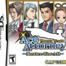 Phoenix Wright: Ace Attorney - Justice for All  (Nintendo DS) (Brand New, Factory Sealed)