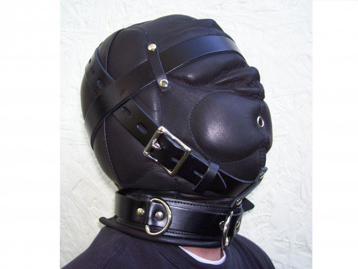 Premium Sensory Deprivation Leather Hood