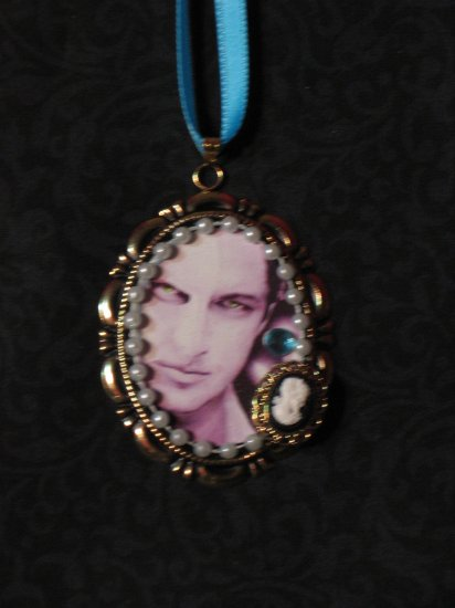 PHANTOM OF THE OPERA Gerard Butler Cameo Necklace or Ornament