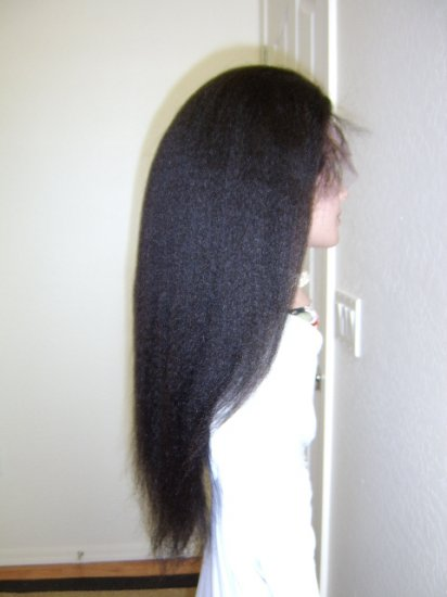 "18"" Kinky Straight,  #1  / Jet Black"