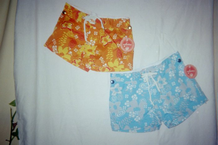 Girls 3 Shades of Blue BoardShorts Size 5