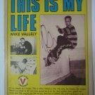 Original Mike Valley Advertisement Rare Vintage