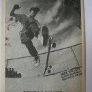 Original Powell Peralta SkateBoard Advertisement Rare Vintage Mike Valley