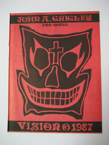 Original Vision SkateBoard Advertisement Rare Vintage John A. Grigley