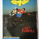 Original Gullwing SkateBoard Advertisement Rare Vintage Jeff Kendall