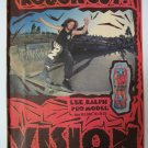 Original Vision SkateBoard Advertisement Rare Vintage Lee Ralph