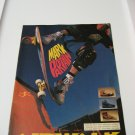 Original Airwalk SkateBoard Advertisement Rare Vintage Mark Partain