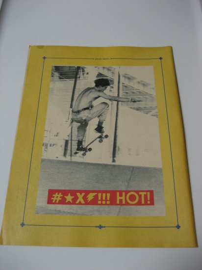 Original Doug Smith SkateBoard Advertisement Rare Vintage