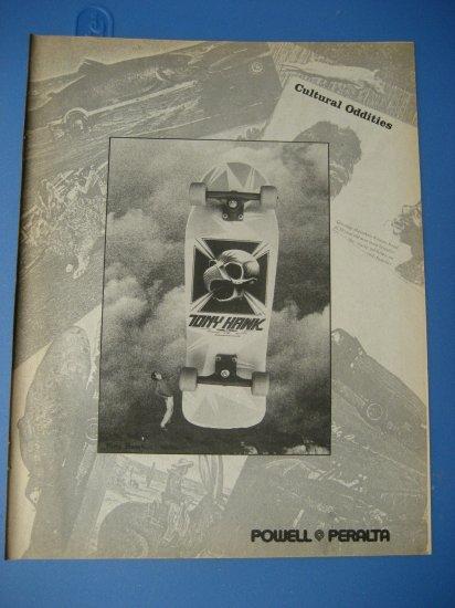 Original Powel Peralta Advertisement Rare Vintage Tony Hawk
