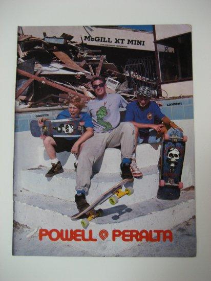 Original Powell Peralta SkateBoard Advertisement Rare Vintage Mike McGill