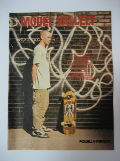 Original Powell Peralta Advertisement Rare Vintage Mike Valley