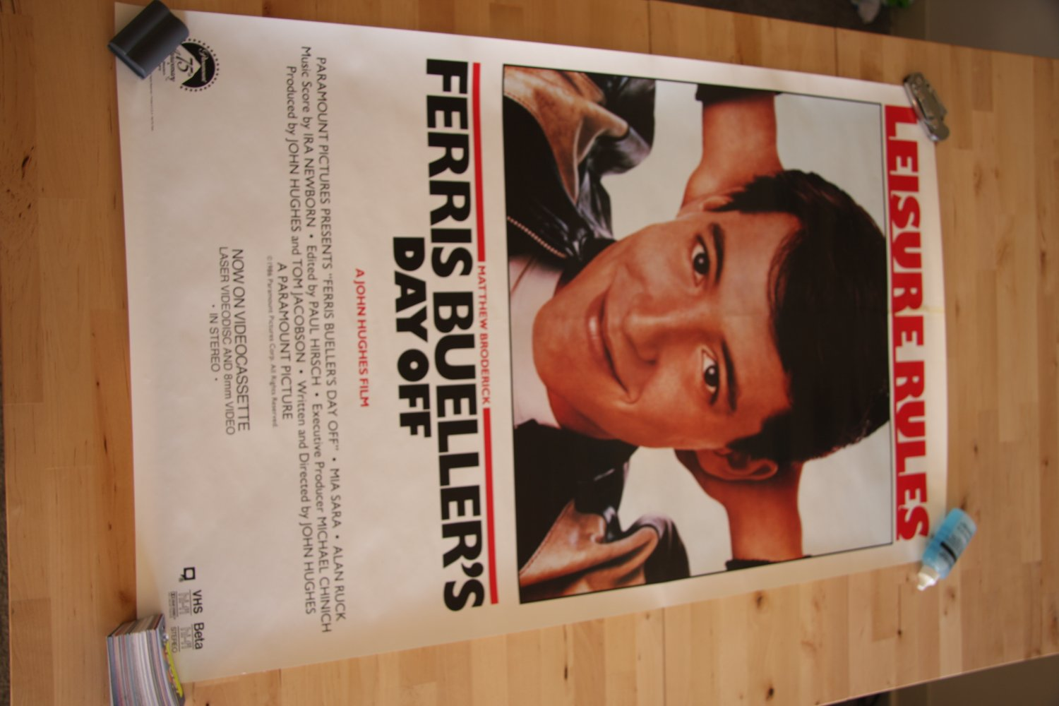 Ferris Bueller's Day Off Poster Original