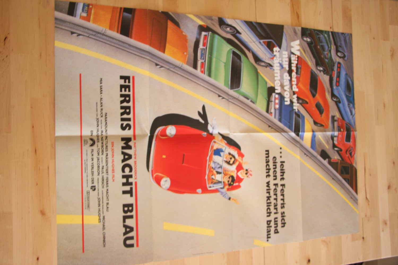 Original German Ferris Bueller's Day Off Poster