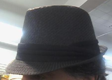 Dark Gray Fedora Unisex One Size Hat