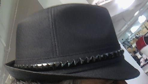 Black Fedora Unisex One Size Hat