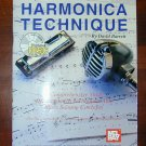 BUILDING HARMONICA TECHNIQUE MUSIC BOOK & CD