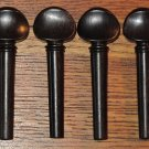 Ebony Violin Pegs (set of 4)