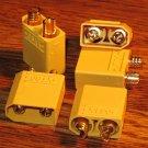 Nylon XT90 Connectors Male (5pcs/bag)