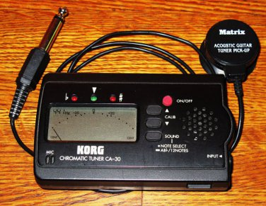 Korg CA-30 Chromatic Tuner & Ext. Mic
