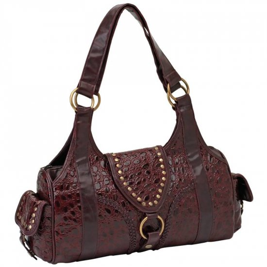 Burgundy Leather Purse