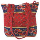 Quilted Large Purse in 4 Vibrant Colors
