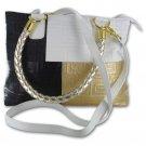 Gigi Chantal Tri-Colored Handbag