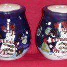 Salt & Pepper Shakers (Snowman)