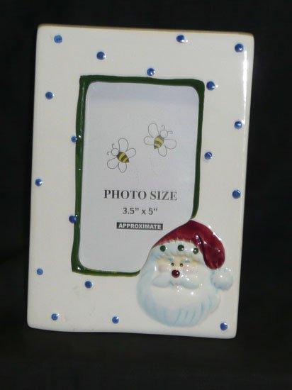 Santa Picture Frame