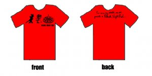 Black Night Red shirt