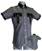 Gray/Black Highway Patrol Shirt SIZE Medium