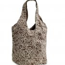AMERICAN EAGLE women's floral reversible tote bag - Brown