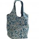 AMERICAN EAGLE women's floral reversible tote bag - Teal