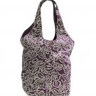 AMERICAN EAGLE women's floral reversible tote bag - Purple