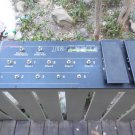 Johnson Millennium J12 Foot Pedal Board UNTESTED