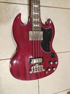 Epiphone EB-3 EB3 SG Set Neck Bass Guitar