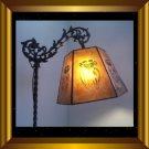Mica Shade for your Antique Vintage Art Deco Nouveau Bridge Floor Lamp UHF2