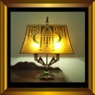 Mica Shade for your Antique Vintage Art Deco Nouveau Table Lamp Base