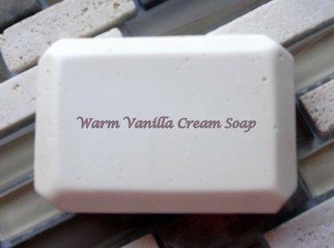 Warm Vanilla Cream soap