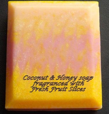 Coconut & Honey soap - Fresh Fruit Slices