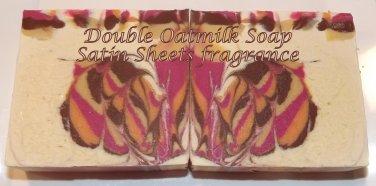 Double Oatmilk soap - Satin Sheets fragrance