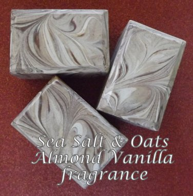 Sea Salt & Oats - Almond Vanilla fragrance