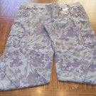 Mossimo NWT Camo Print  Women's Cargo Pants Size 17 001p-25 loc14