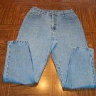 TRUE TEST Classic DUNGAREES WOMEN'S Blue JEANS Size 10A 10 A  001p-35 Womens Slacks Pants