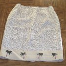 SILK CLUB COLLECTION Women's Animal Print Pencil SKIRT Size 8  001s-01 Vintage Womens Skirts locw21