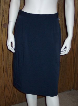 Toni Garment For C C Magic Women's Black Pencil Skirt Size 12  001s-08 Vintage Womens Skirts locw21