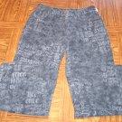 MONDO WOMEN'S Black Print JEANS Size 10  001p-49 locationbin2